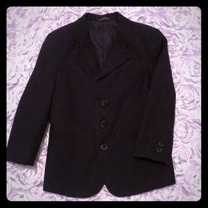 Pinstripe boys suit coat size 5